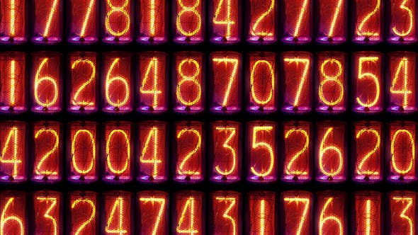 Cover Image for Nixie Clock Numerical Counter Videowall 10