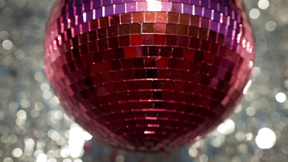 Thumbnail for Pink Discoball 74