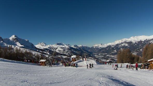 Thumbnail for Ski French Alps 3