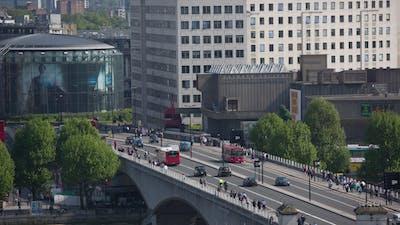 Southbank Urban Traffic London England