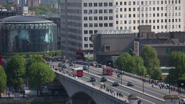 Thumbnail for Southbank Urban Traffic London England