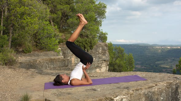 Thumbnail for Yoga Teacher, Amazing Location, Mountain Clifftop 20