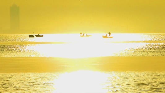Thumbnail for Sunset and Fishing Boat 2