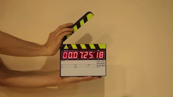 Cover Image for Film Clapperboard