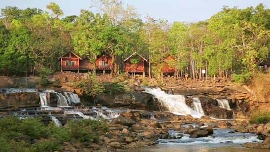 Thumbnail for Tad Lo Village Waterfall, Pakse, Laos  1