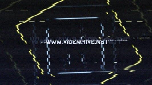 NTZ48 Glitch Logo