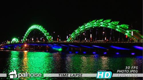 Dragon Bridge Asia LED Lights