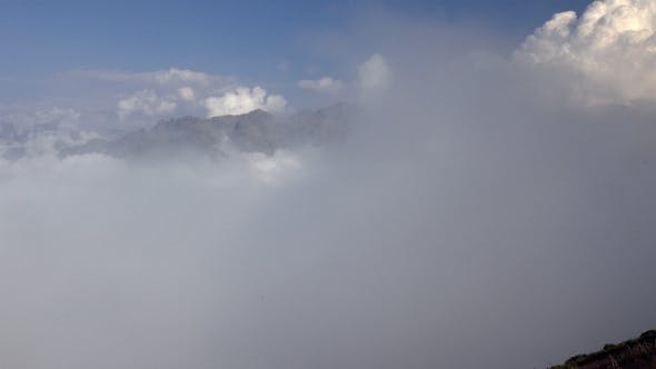 Thumbnail for Storm Approaching Above Clouds 1