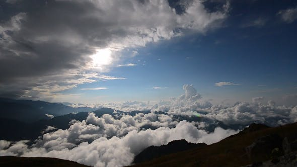 Thumbnail for Magnificent Landscape Above the Clouds 17
