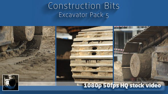 Thumbnail for Construction Bits 9 -- Excavator Pack 5