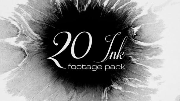 Thumbnail for 20 Ink footage pack