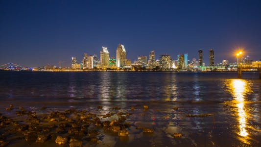 Thumbnail for San Diego at Night