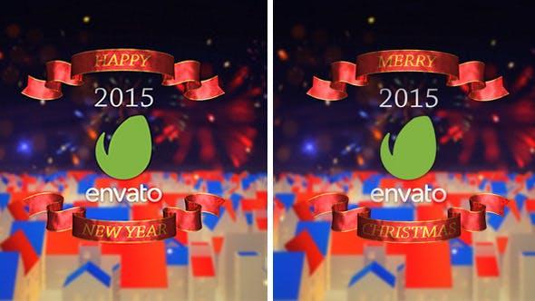 New Year & Merry Christmas Opener