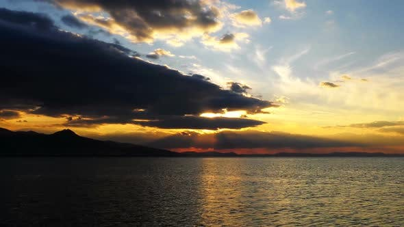 Thumbnail for Sunset And Sea Time Lapse