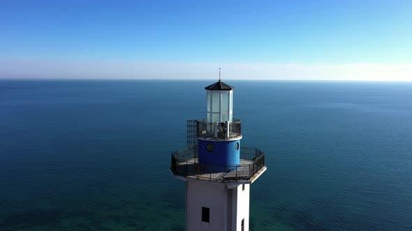 Thumbnail for Closeup of  lighthouse