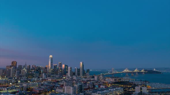 Cover Image for San Francisco At Dusk