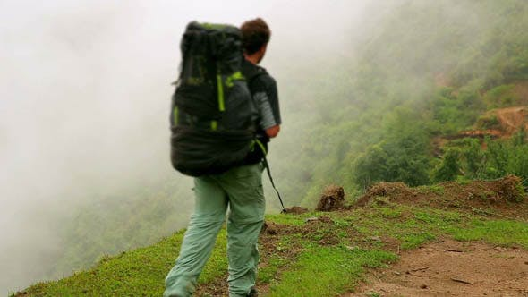 Thumbnail for Trekking At Himalayan Mountain