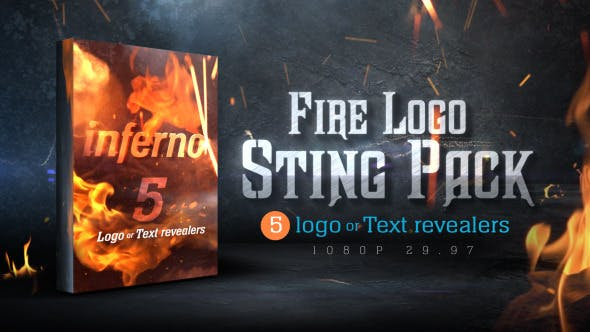 Thumbnail for Fire Logo Sting Pack