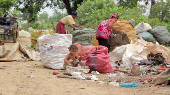 Thumbnail for Slums At Phnom Penh City Dumping Area 30