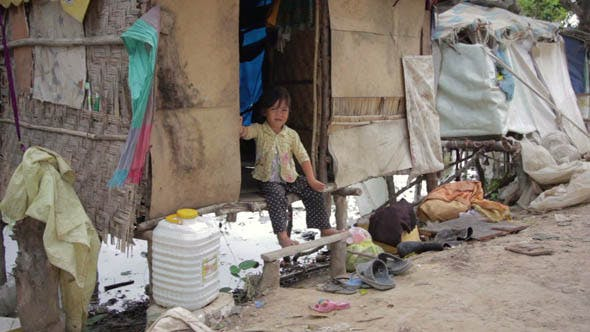 Thumbnail for Slums at Phnom Penh City Dumping Area 50