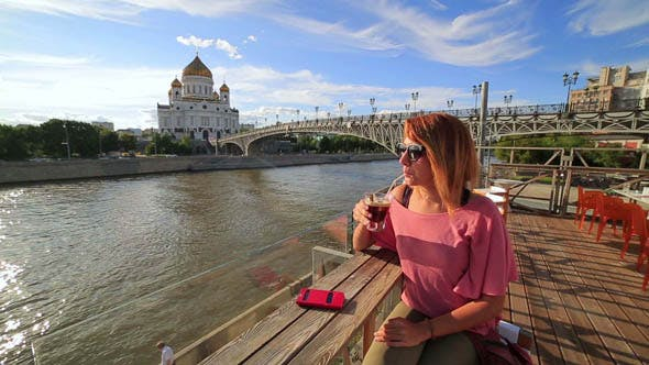 Thumbnail for Female Tourist Sightseeing In Moscow