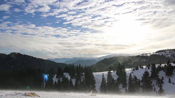 Thumbnail for Mountain Winter Blizzard