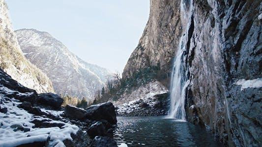 Thumbnail for Mountain Waterfall 2