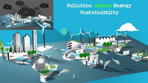 Pollution vs Energy Sustainability