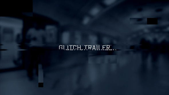 Thumbnail for Glitch Trailer Diashow-Öffner