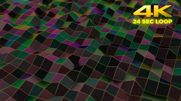 Thumbnail for Abstract Background Low Poly