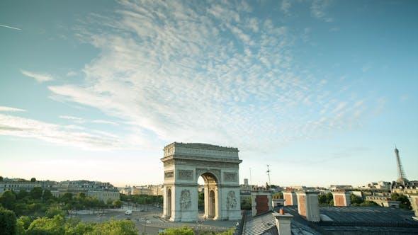 Thumbnail for Arc Du Triomphe Paris France 9