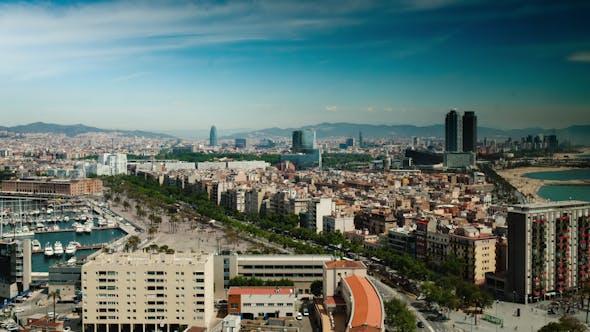 Thumbnail for Barcelona Skyline 39