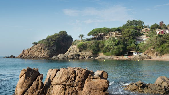 Thumbnail for Beautiful Bay On The Spanish Costa Brava Coast 1