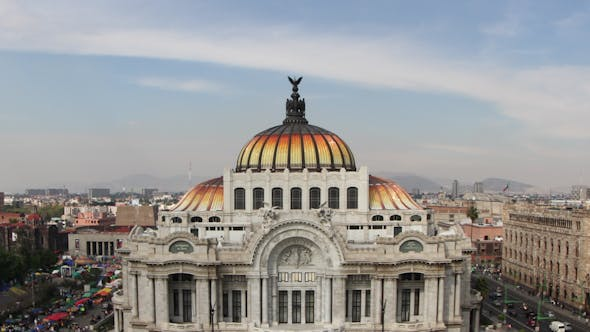 Thumbnail for Bellas Artes Mexico City Architecture 2