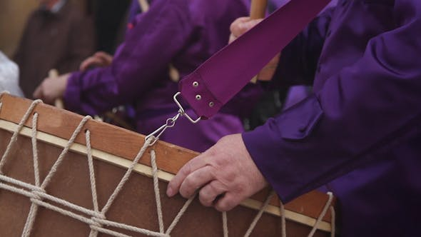 Thumbnail for Calanda Drummers During Easter Spanish Tradition 13