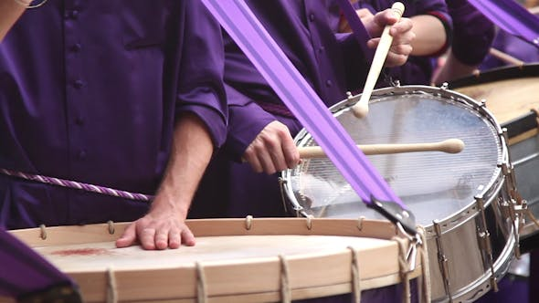 Thumbnail for Calanda Drummers During Easter Spanish Tradition 20