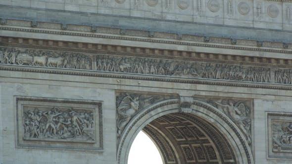 Thumbnail for The Arc Du Triomphe Paris France