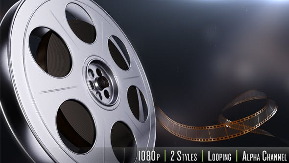 Thumbnail for Motion Picture Film Reel - 2 Styles