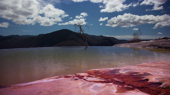 Cover Image for Hierve El Agua Oaxaca Mexico 14