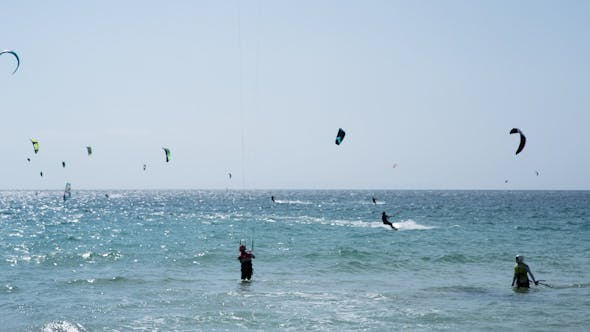 Cover Image for Kite Surf In Tarifa, Andalusia Spain 6