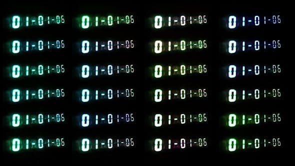 Thumbnail for Led Clock Counter 13