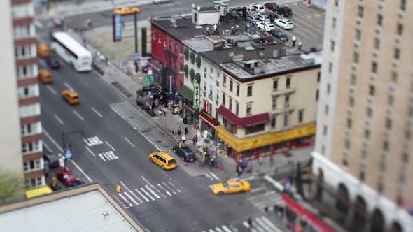 Thumbnail for Manhattan New York Street Traffic Cars 2