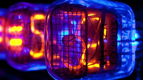 Thumbnail for Nixie Clock Numerical Counter 10