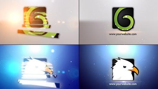 Thumbnail for Minimal Slice Logo V2