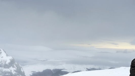 Thumbnail for Snow-covered Mountains In The Blizzard