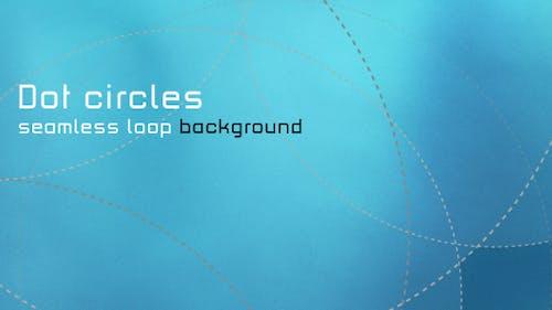 DOT CIRCLES seamless loop Background
