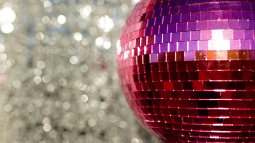Pink Discoball 70
