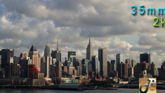 Thumbnail for Skyline Of New York City On A Cloudy Day