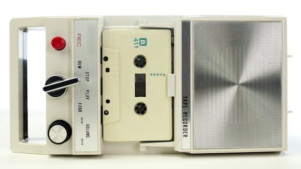 Thumbnail for Vintage Tape Recorder Cassette 1