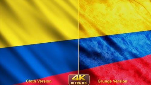 Kolumbien Flaggen